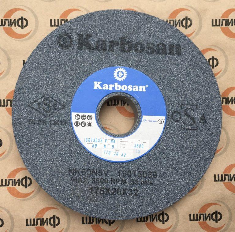 Шлифовальный круг 175X20X32 NK F60 N5 VF13 » Abrasive Tools г. Харьков