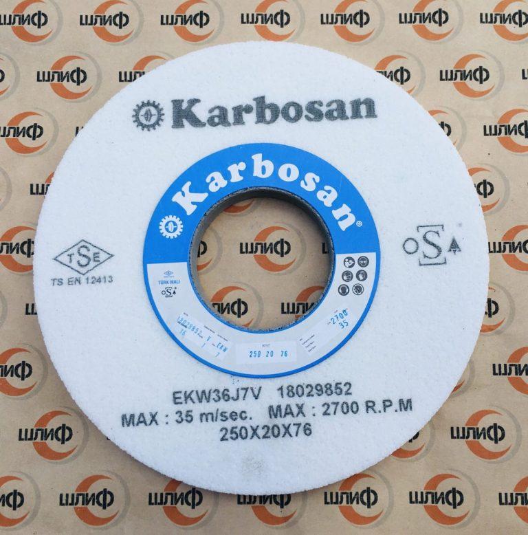 Шлифовальный круг 250x20x76.2 EKW F36 J7 V » Abrasive Tools г. Харьков
