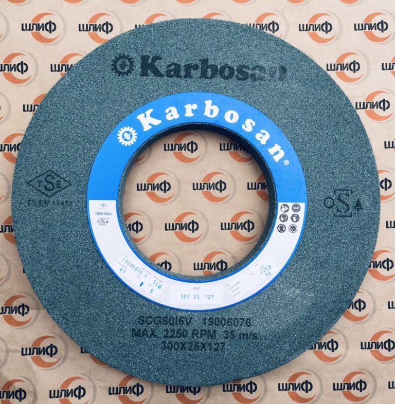 Шлифовальный круг 300x25x127 SCG F60 I 5 VN50 » Abrasive Tools г. Харьков