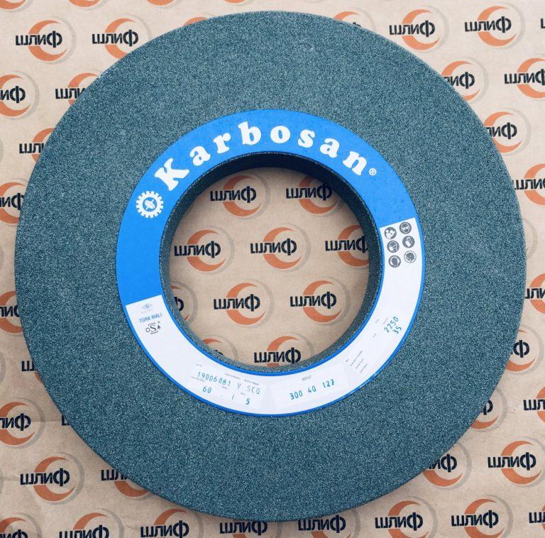 Шлифовальный круг 300x40x127 SCG F60 5 VN50 » Abrasive Tools г. Харьков