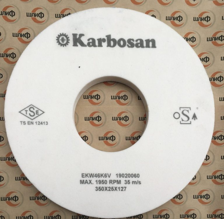 Шлифовальный круг 350x25x127 EKW F46 K V » 350x25x127 scaled 1