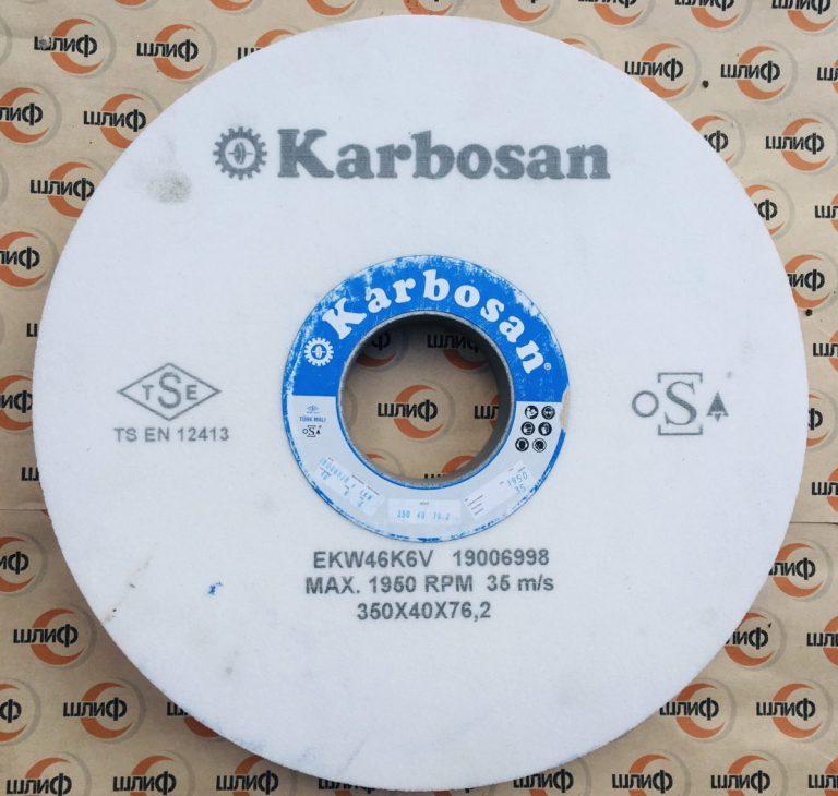 Шлифовальный круг 350x40x76.2 EKW F46 K 6 V » Abrasive Tools г. Харьков