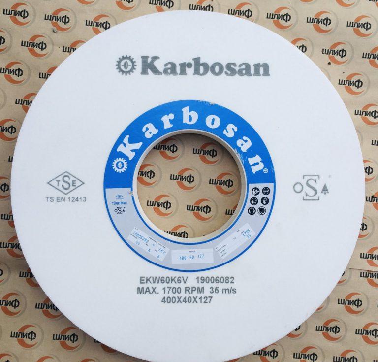 Шлифовальный круг 400x40x127 EKW F60 K 6 VN21 » Abrasive Tools г. Харьков