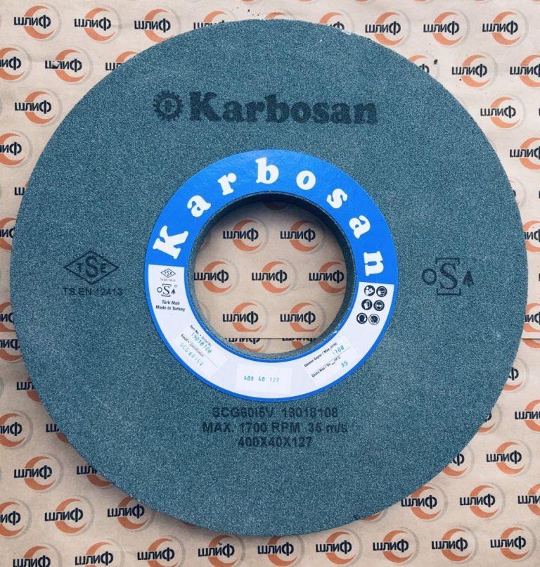 Шлифовальный круг 400x40x127 SCG F60 K 5 V » Abrasive Tools г. Харьков
