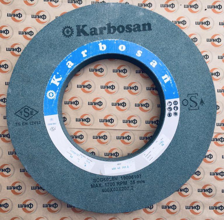 Шлифовальный круг 400x40x203,2 SCG F60 L 7 V » Abrasive Tools г. Харьков