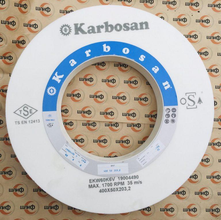Шлифовальный круг 400x50x203,2 EKW F46 K 6 V » Abrasive Tools г. Харьков