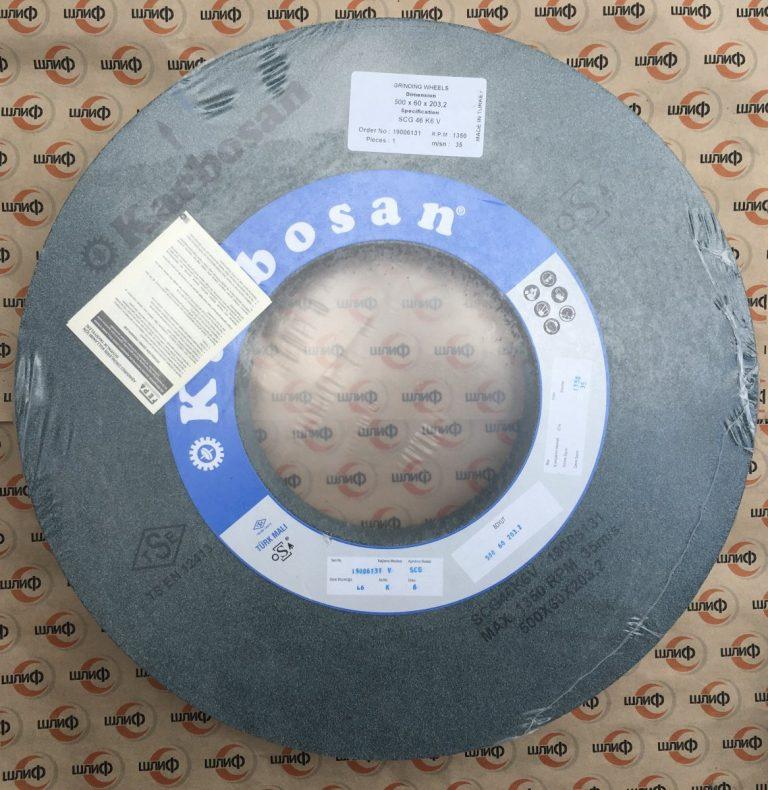 Шлифовальный круг 500x60x203,2 SCG F46 K6 VN50 » Abrasive Tools г. Харьков