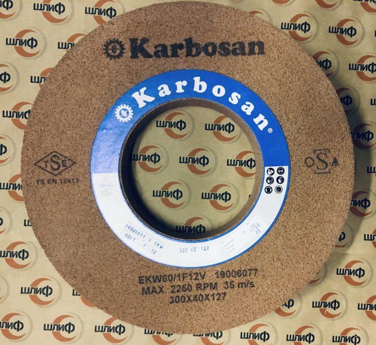 Шлифовальный круг 300x40x127 EKW F60/1 F12 V75 FP2 » Abrasive Tools г. Харьков