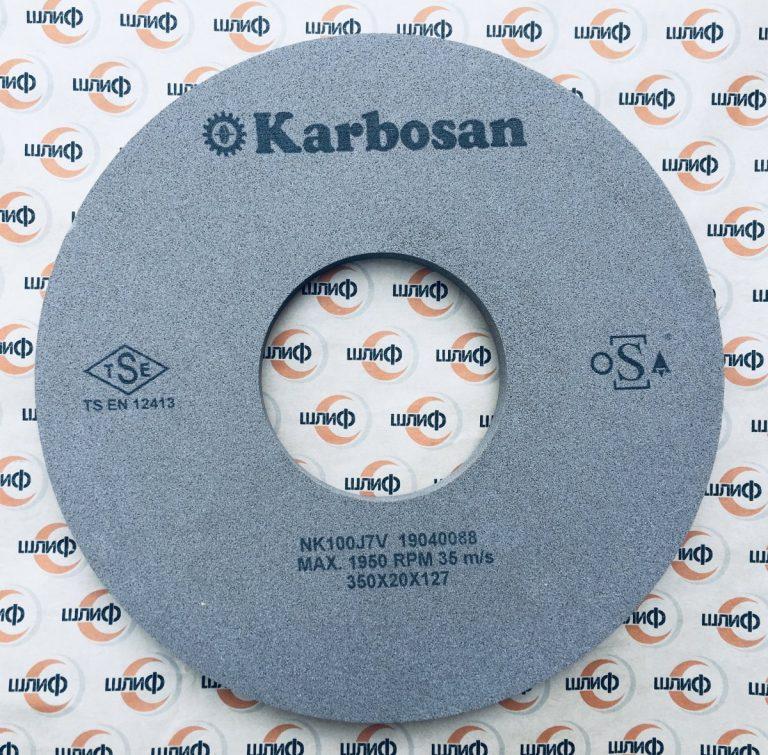 Шлифовальный круг 350x20x127 NK F100 J 7 V » Abrasive Tools г. Харьков