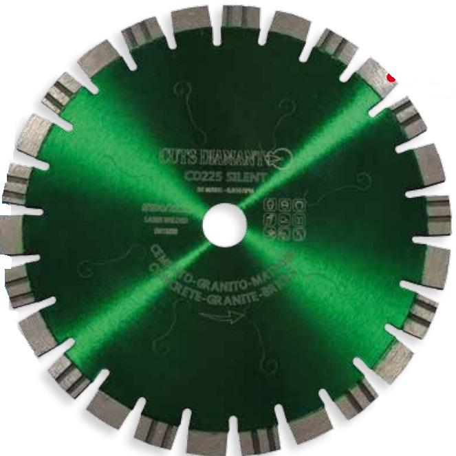 Алмазный отрезной круг CD225 Silent 400x25,4 Н 12 » cd225