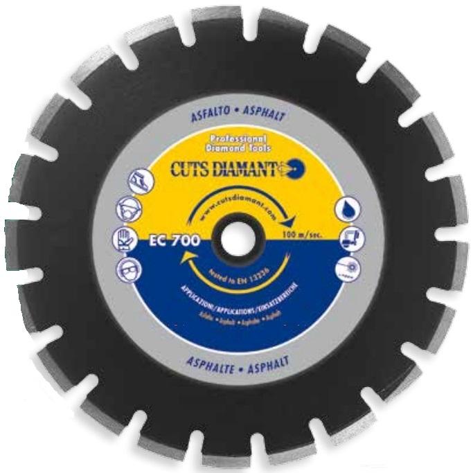 Алмазный отрезной круг ЕC700 350x25,4  Н 10 » ec700