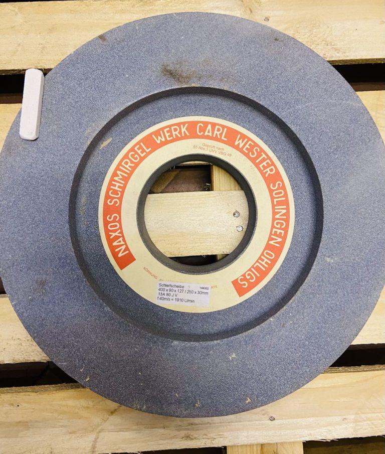 Шлифовальный круг 13А ПВ 400х90х127/250х30 80 J V » Abrasive Tools г. Харьков