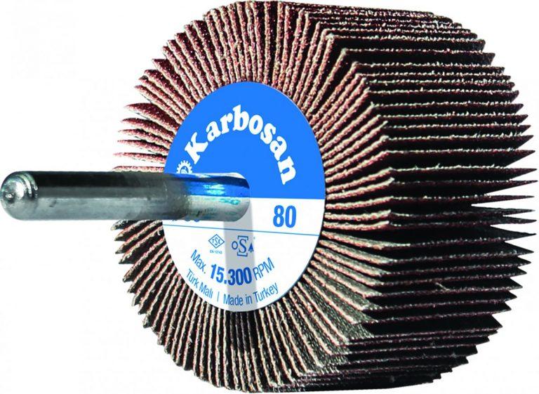 Круг лепестковый с оправкой 80х30х6х40 NK60 » Abrasive Tools г. Харьков